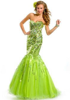 Ball Cap Sleeve Two Piece Short Lime Green Tulle Beaded Prom Dress ...
