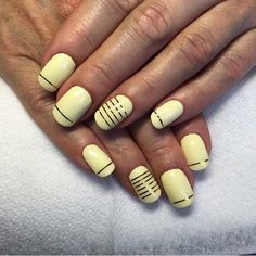August nails, Banana nails, Beautiful autumn nails, Beautiful nails 2016, Beautiful summer nails, Fall nails 2016, Manicure by summer dress, Manicure by yellow dress