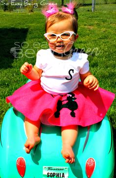 Perfect, DIY Toddler Halloween Costume!  Making for Sydalee this year!!