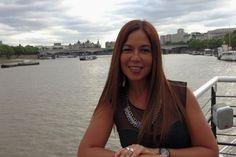 Rowena Romulo on the Thames River (Photo courtesy of Rowena Romulo)