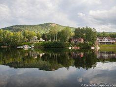Je reprends enfin ma série d'articles sur le Québec. Aujourd'hui, j'ai simplement envie de vous parler du chalet au bord d'un lac que nous avons loué duran