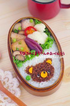 そぼろくまちゃんのお弁当 - ◆きょうのおべんとう*キャラ弁デコスィーツ◆