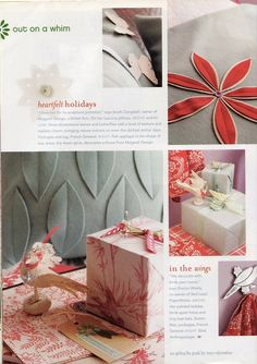 Out of Print Decorating - from Mary Engelbreit's Home Companion December 2006 & January 2007, Out On A Whim: Drift Off To A Dreamland In A Purple Haze