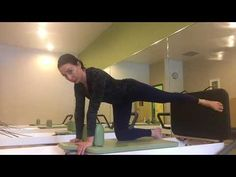 Jumpboard on the Reformer - YouTube