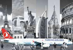 TURKISH AİR Collage Desing 2