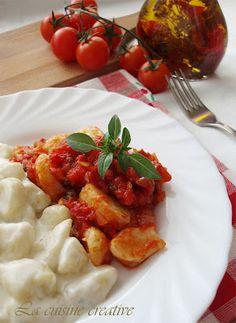 Domace njoke u umaku od paradajza i gorgonzole/Homemade gnocchi @Lana Belic