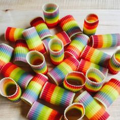 sheets of multicoloured pasta by salty seattle
