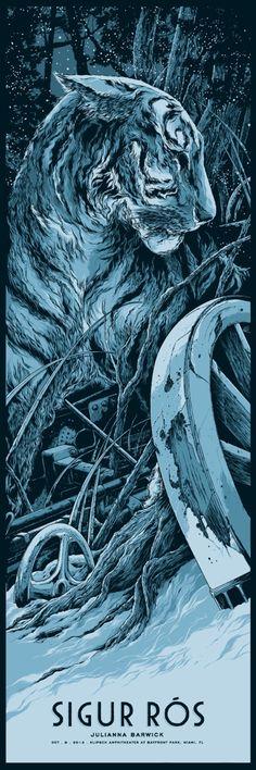 Ken Taylor's Sigur Ros Poster