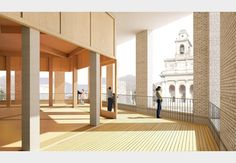 First look: History underpins Sergison Bates's Swiss piazza plan for Mendrisio…
