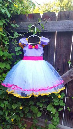 Daisy Duck  dress, purple Daisy Duck costume , Daisy Duck Party Dress, purple dress, pink and purple dress, 1st Birthday party by loverdoversclothing on Etsy https://www.etsy.com/listing/155639656/daisy-duck-dress-purple-daisy-duck
