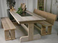 Kussens Voor Steigerhouten Bank, tafel en banken restoric