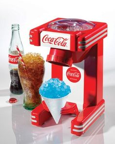 Máquina de Raspadinha Coca-Cola® Series Nostalgia Electrics- <b>Lançamento!</b>