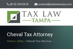 Dealing with the Internal Revenue Service isn't the simplest task for anyone to deal with. #ChevalTaxAttorney