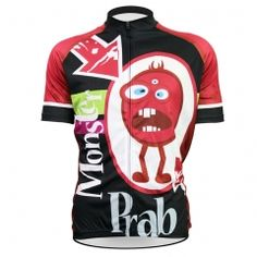 Cycling jerseys New Mens Cycling Jersey Comfortable Bike shirt Monster Prab Alien SportsWear Black cycling clothing Size Road Bike Jerseys, Unique Cycling Jerseys, Bike Shirts, Cycling Gear, Cycling Outfit, Cycling Clothing, Bicycle Jerseys, Bike Accessories, Sport Outfits
