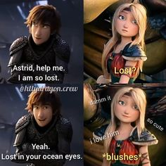 Funny True Quotes, Funny Relatable Memes, I Am Blue, Blue Grey, Hicks Und Astrid, Dragon Memes, Hiccup And Astrid, Httyd 3, Disney Jokes