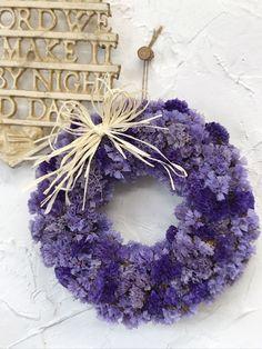 Dried Flowers, Burlap Wreath, Hanukkah, Wreaths, Purple, Fall, Plants, Vintage, Home Decor