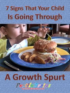 Signs of growth spurt in preschoolers and kindergarteners. Read Now and/or Pin For Later #family