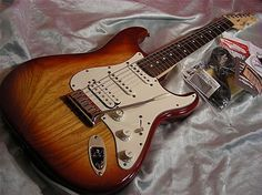 american deluxe stratocaster sienna sunburst