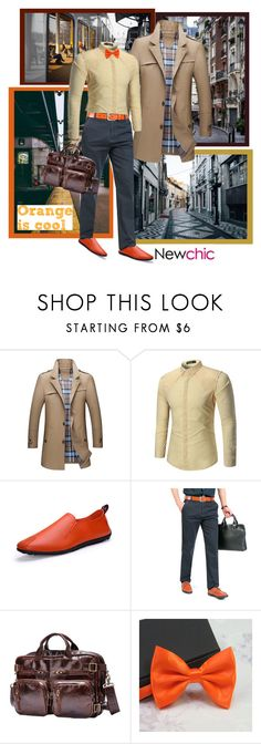 """""""NewChic (354. - Men 88.)"""" by carola-corana ❤ liked on Polyvore featuring City Streets, men's fashion, menswear and lovenewchic"""