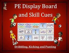 This PE Display Board and Word Wall has been uniquely developed as a valuable and attractive visual aid for teaching skill-based sport units in physical education.