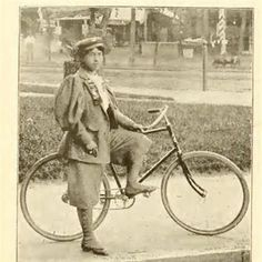 "There was no denying that Miss Kittie Knox was a card-carrying member of the League of American Wheelmen, but her attendance at the annual meeting in 1895 lit a fire that sparked newspaper headlines from coast to coast. Only 21 years old at the time, the bi-racial seamstress and cycling enthusiast dared to challenge the new ""color bar"" instituted by the League just one year earlier."