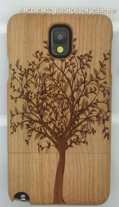 Samsung Galaxy S2 Skyrocket wooden tree case.
