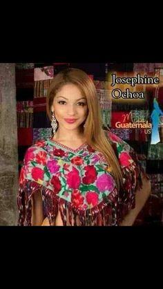 Josephine Ochoa native Guatemalan clothing.