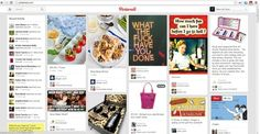 New design of Pinterest with bigger pins!!   Niice! Beso de Vino