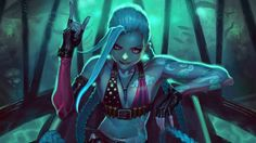 League of Legends HD Jinx Wallpaper 1920×1080