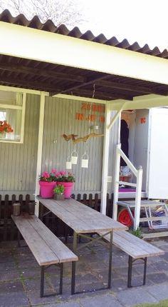 Buitenhuisje   Pipowagen   veranda   Caravanity