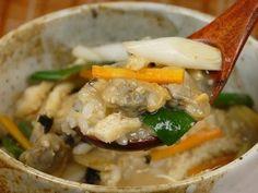 Fukagawameshi (Clam Miso Soup over Rice) 深川めし 作り方レシピ - YouTube
