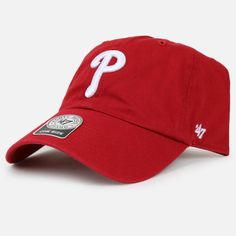 The '47 Brand Philadelphia Phillies Clean Up Snapback Cap is available now at RUVilla.com and at a Villa location near you!
