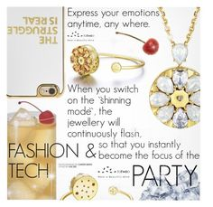 """Party Style"" by totwoo ❤ liked on Polyvore featuring BaubleBar"
