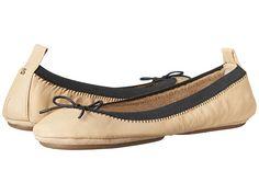Yosi Samra Sandrine Soft Leather Fold Up Flat w/ Bow ($46)