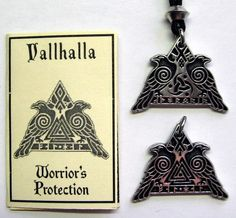 Nordic Symbols for Valhalla | Details about VALHALLA AMULET PENDANT NORSE ODIN VIKING wicca witch