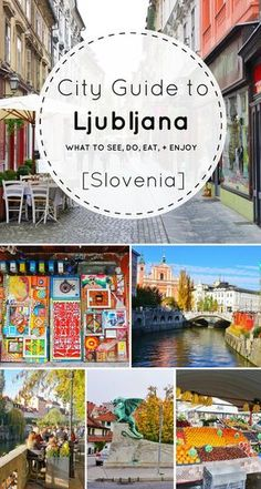 Looking for the best things to do in Ljubljana Slovenia? I've got you covered. From castles and city views to markets and arts, this little city is sure to entice any European vacation lover. Check out this city guide to Ljubljana (with loads of day trip ideas) before your next visit to Slovenia!: