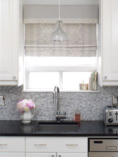Love the light above the sink!