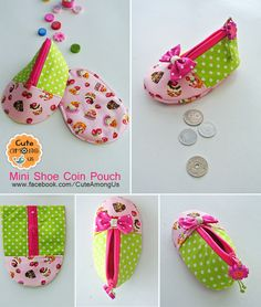 Discover thousands of images about Process Sewing Tutorials, Sewing Crafts, Sewing Projects, Sewing Patterns, Diy Bags Purses, Fabric Wallet, Pencil Bags, Coin Bag, Bag Making