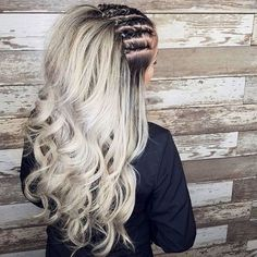 I just love braided hairstyles. They have the perfect sporty or raw look that we girls often try to get. If someone asks me about a hairstyle that express bold attitude I would say braided hairstyles. Even many poets and thinkers have mentioned that there are few things that are as sexy as a woman … #cutehairdos