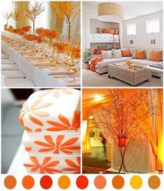 A Beautiful Feather: Color Palette-Orange