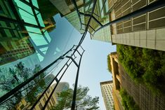 Low Angle Shot, Angle Shooting, Building Management, Glass Building, Clear Sky, France, Modern Glass, New Pictures, Royalty Free Photos