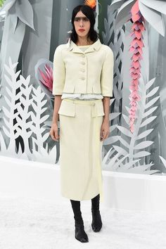 Chanel's Spring 2015 Couture Collection in Paris #fashion