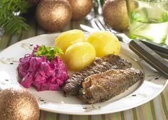 Fried herring with beetroot salad [DENMARK]