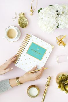Styling and Product Photography by Shay Cochrane for Emily Ley Simplified Planner