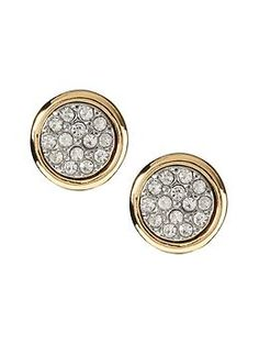 Banana Republic: Sparkle Circle Stud Earrings