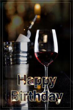 Happy Birthday wine Happy Birthday Drinks, Happy Birthday Emoji, Happy Birthday Wishes Photos, Happy Birthday Wishes For A Friend, Happy Birthday For Him, Happy Birthday Video, Happy Birthday Celebration, Happy Birthday Messages, Happy Birthday Wine Images