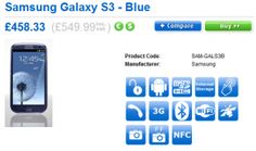 Samsung Galaxy S III Unlocked will cost £550 when released in UK on May 30th