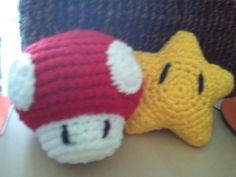 Mario Mushroom & Invincibility Star