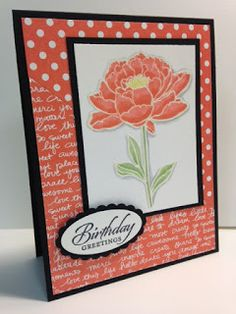 You've Got This, Birthday Card, Stampin' Up!, Rubber Stamping, Handmade Cards