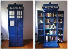 Doctor who book case